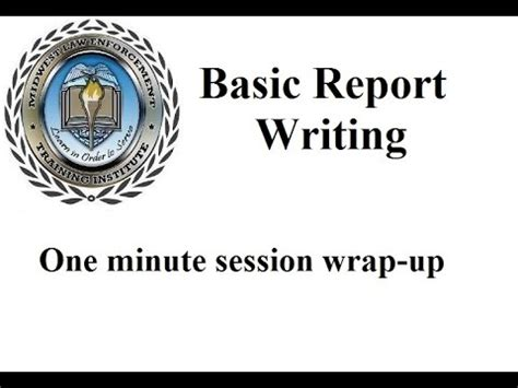 Full text of Basic police report writing - Internet Archive